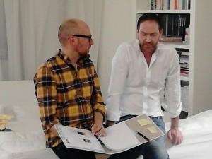 Praxisteil: Thomas Grossmann im Gespraech mit einem Teilnehmer