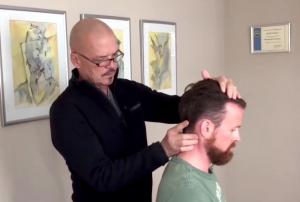 Chiropraktiker Craig Cain und Kai Haselmeyer