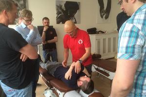 Chiropraktiker Dr. Craig Cain (DC), Kiso-Seminar in Hamburg