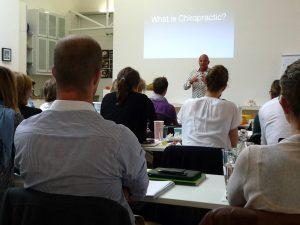 Arno Burnier war Dozent beim 10. Mastermodul von Chiropraktik Campus