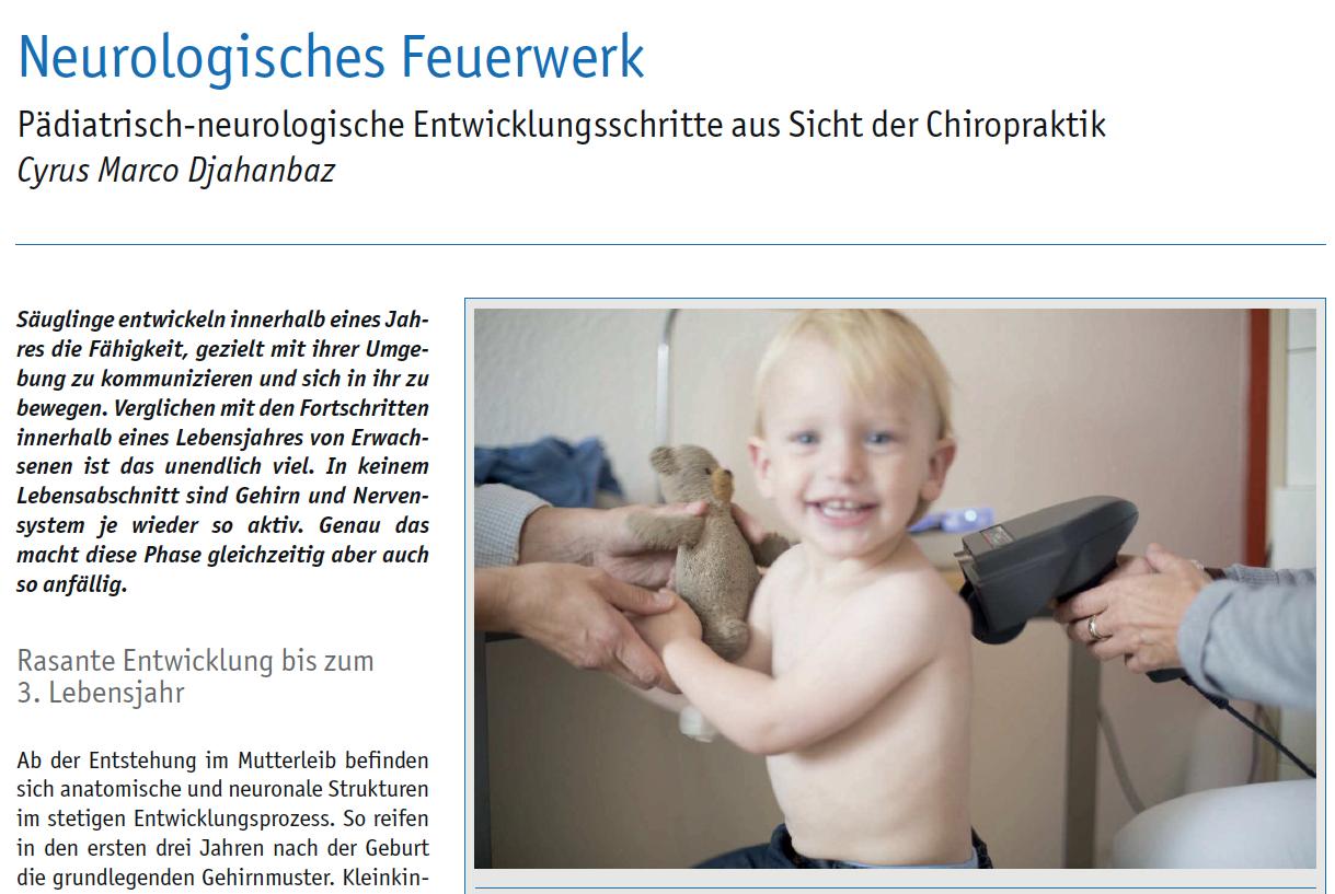 Chiropraktik Campus veröffentlicht in Fachzeitschrift COmed